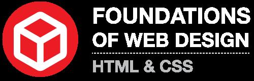 Foundations of Web Design